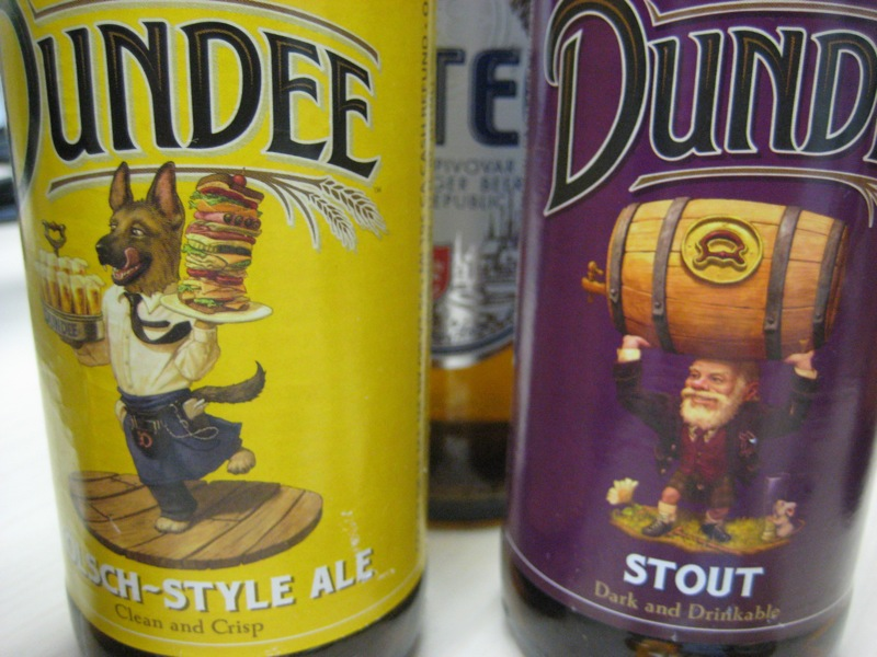 the labels of Dundee