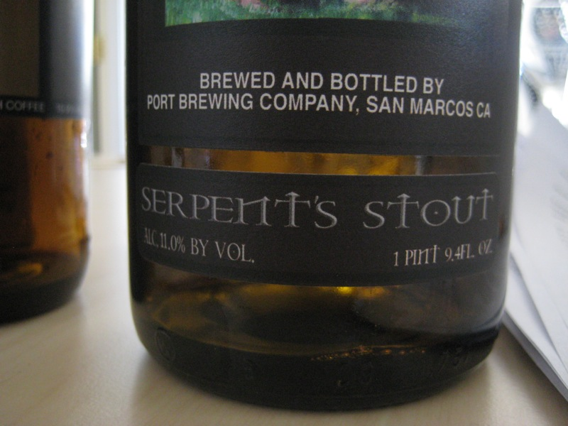 serpents stout