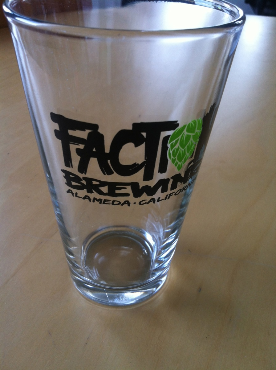 Faction Brewing pint