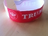 wrist band for the Celebrator party