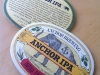 Anchor IPA coasters