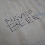 Never Beer