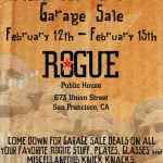 Rogue President's day(s) sale
